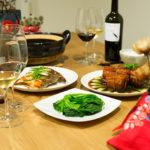 【酒食搭配】年夜飯‧烤甘蔗與香煎白鯧,森林莓果系與東坡肉