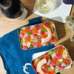 【酒食搭配】春日葡萄酒野餐趴‧繽紛散壽司與燒烤牛肉起司拖鞋三明治