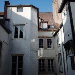 家族旅行時入住的法國伯恩公寓