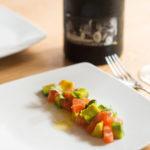 非常開胃又讓人欲罷不能的糖鹽漬鮭魚(Sugar Cured salmon)酪梨沙拉
