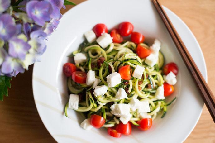 zoodles(zucchini noodles