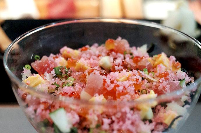 果真一如傳聞般美味的魚道生午餐