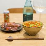 「大地藝術祭X天神囃子」一系列純米酒與其搭配的料理