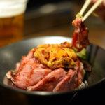 就以 Kyoto tower sando 內 Gottie's Beef 的海膽英式烤牛肉丼揭開京都之旅的序幕吧
