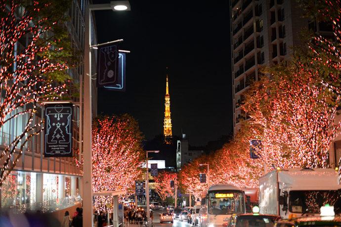 Roppongi Hills 聖誕點燈