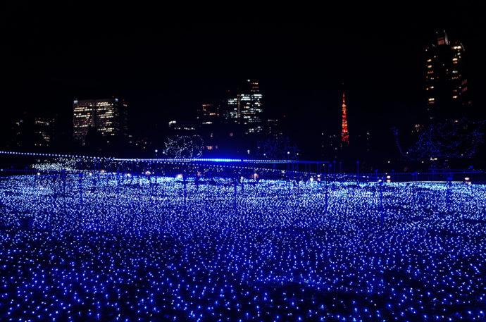 Tokyo Midtown 聖誕點燈