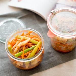 韓式泡菜涼拌花枝