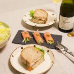 【酒食搭配】夏日消暑之無油煙三明治,與美麗湖邊來的義大利白酒