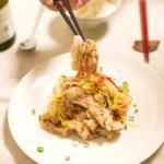【酒食搭配】酸白菜炒豬五花與阿里歌蝶・紫蘇雞肉丸與上伯恩丘紅